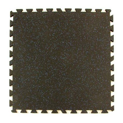 Greatmats Rubber Tile 3/8 Inch Color Flecks