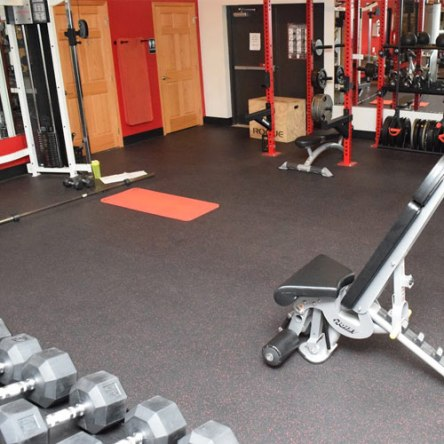 Dunamis Fitness Center Weight Training Room Greatmats Rubber Flooring