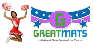 Greatmats National Cheer Coach of the Year Logo