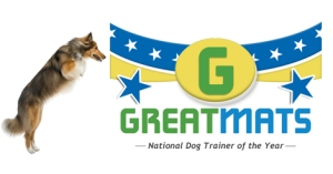 Greatmats National Dog Trainer of the Year Logo
