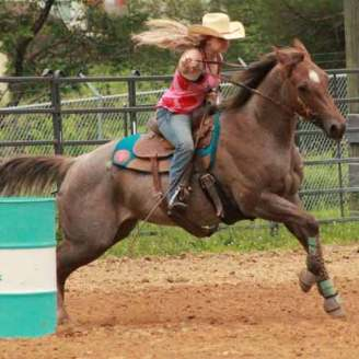 Gracie Shepherd Barrel Racing Greatmats