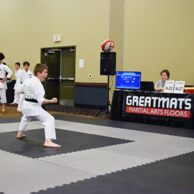 Greatmats Martial Arts Mats at Infinity Martial Arts Tournament