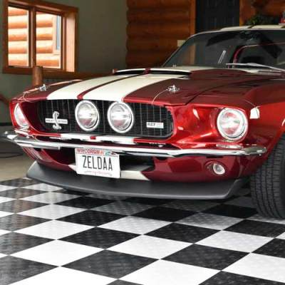 1967 Ford Mustang Shelby 427 Fastback Greatmats Diamond Garage Floor Tiles