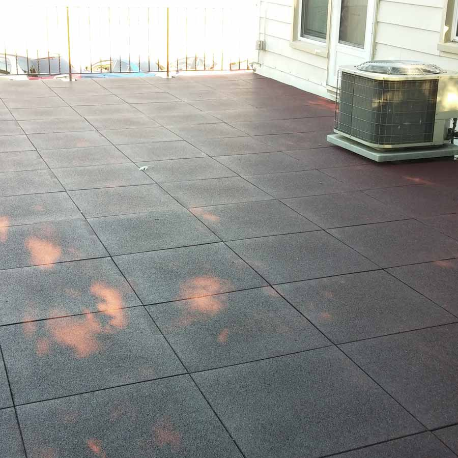 Greatmats Sterling Rooftop Deck Rubber Tile