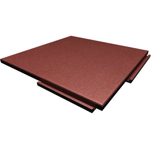 Greatmats Sterling Rubber Rooftop Tile Terra Cotta Color